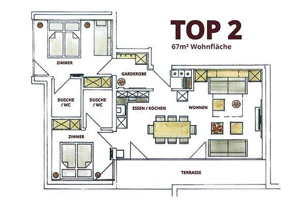 TOP 2 Appartementen in Zell am See